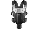 Рюкзак-кенгуру BabyBjorn Carrier Miracle Black-Silver (Cotton Mix)